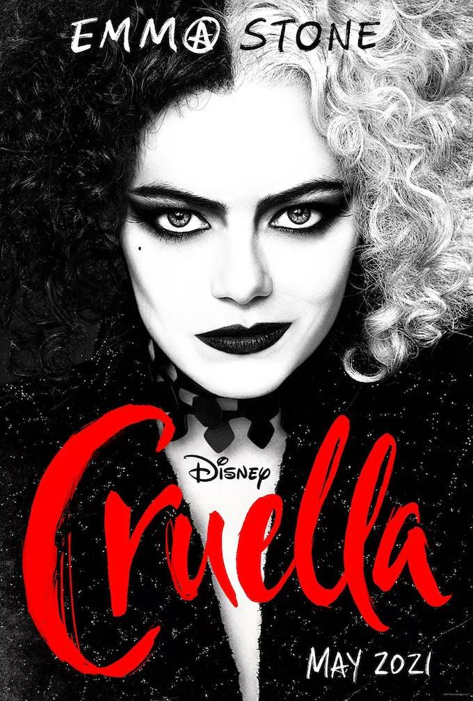 Cruella film Disney Emma Stone affiche