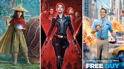 Disney films et séries 2021