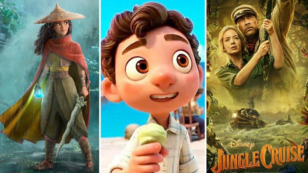 Disney films et séries Disney studios 2021