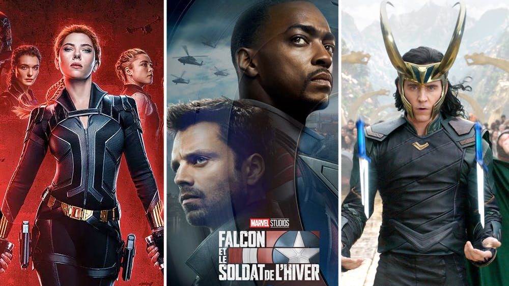 Disney films et séries Marvel 2021