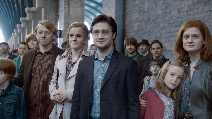 scène finale Harry Potter et les Reliques de la Mort