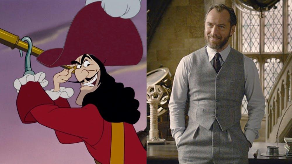 Peter Pan & Wendy Jude Law en Capitaine Crochet