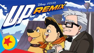 Là-Haut : quand Pixar remixe son film en une géniale version anime japonais de 2 minutes