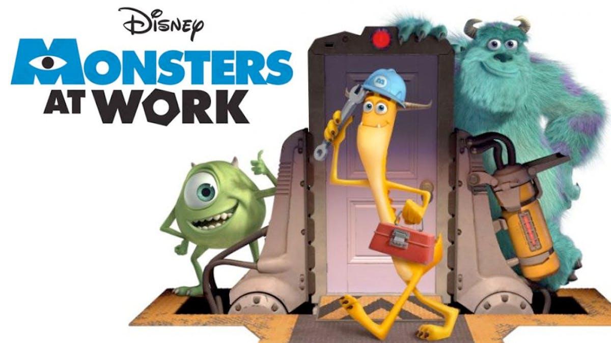 série Monstres & Cie : Au travail Disney+