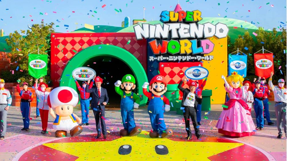 Ouverture du Parc Super Nintendo World au Japon