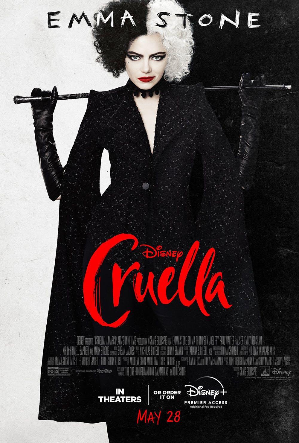 Cruella nouvelle affiche Disney