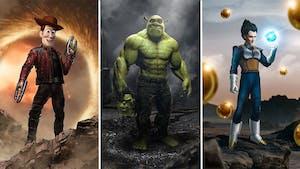 Les incroyables fusions de personnages de films ou de dessins animés