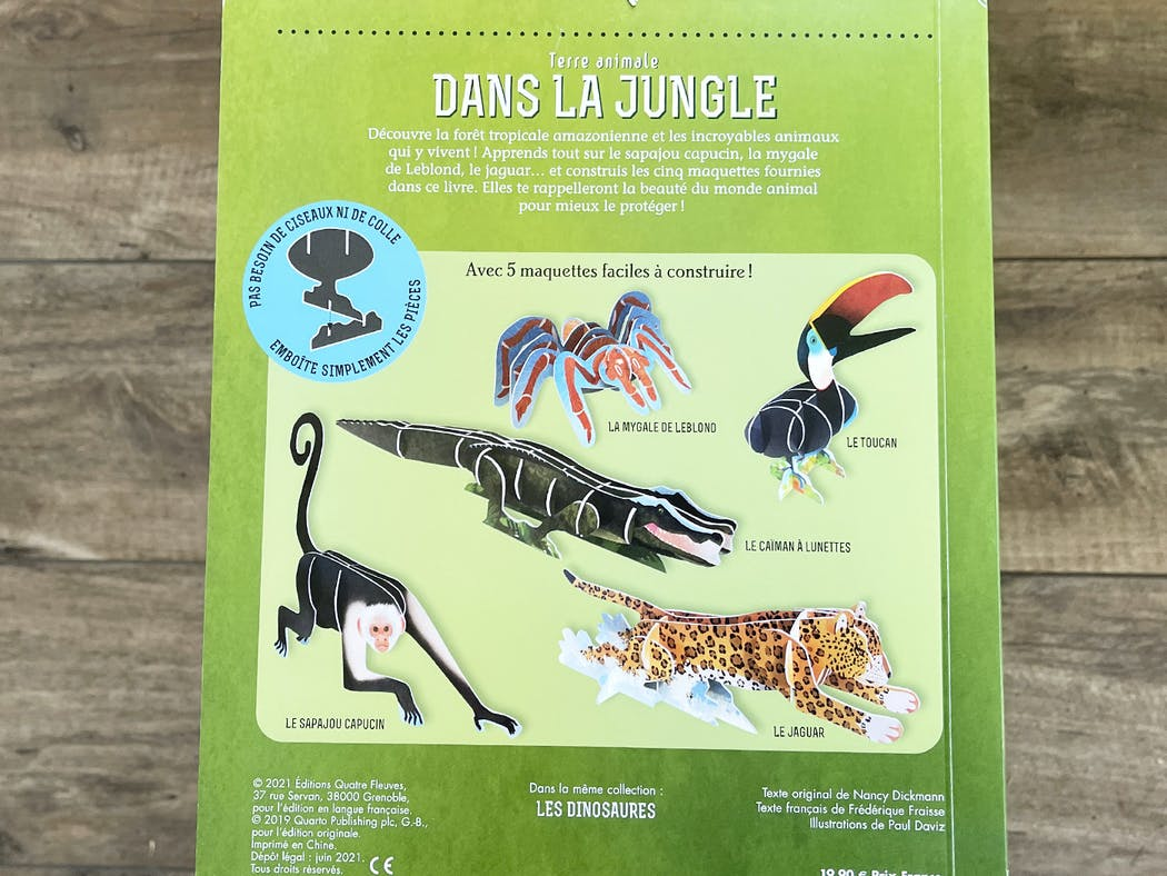 Terre animale - Dans la Jungle extrait 3