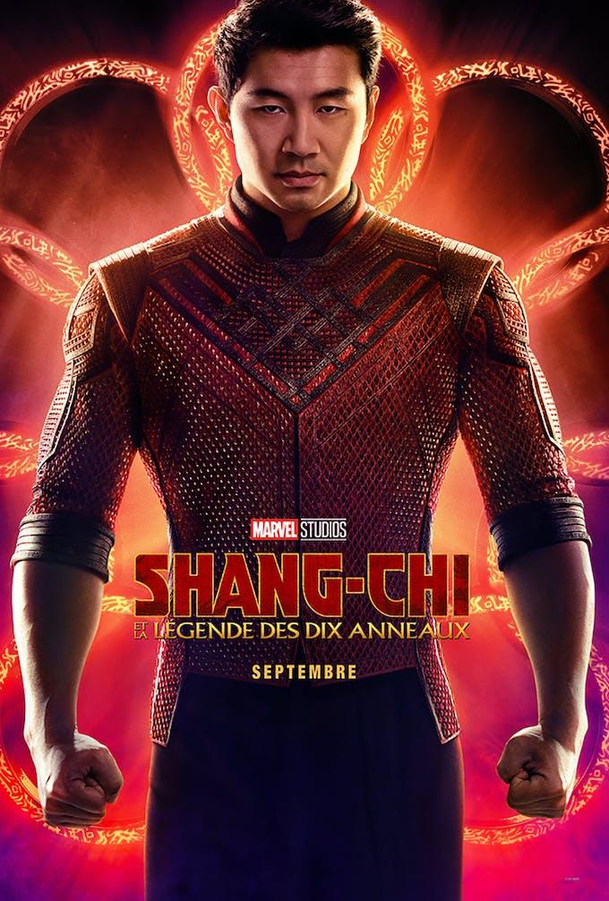 Affiche film Marvel Shang-Chi et la légende des 10 anneaux