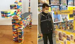 Lego : les créations incroyables de Sacha, un adolescent non-voyant