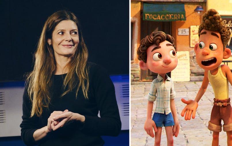 Luca film Disney Pixar Chiara Mastroianni