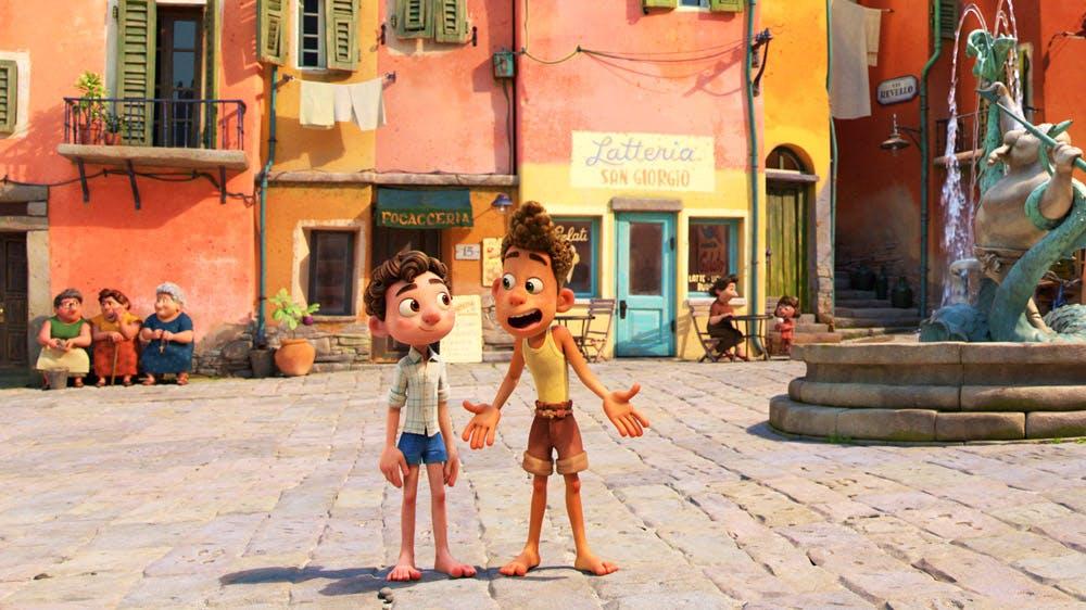 Luca film Disney Pixar