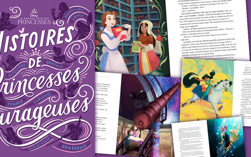 Histoires de Princesses Courageuses Disney