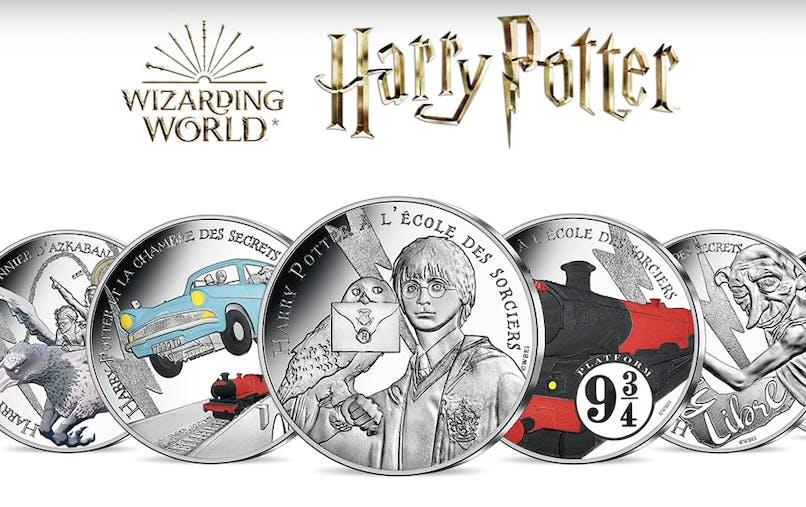 collection Harry Potter Monnaie de Paris