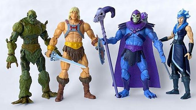 Les Maîtres de l'Univers Révélation nouvelle série Musclor Netflix figurines Mattel