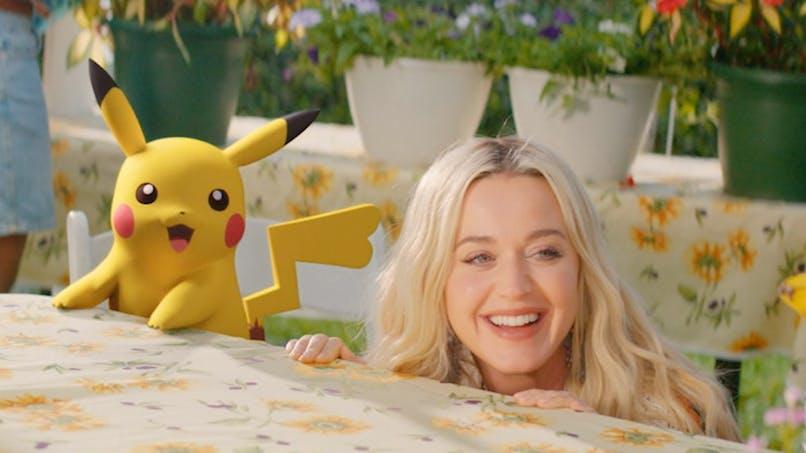 Katy Perry chante avec Pikachu pour les 25 ans de Pokemon