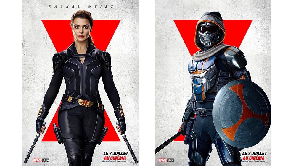 affiches Black Widow
