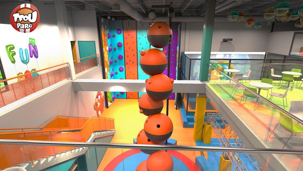 TFOU va ouvrir son tout premier parc de jeux indoor !