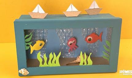 DIY Aquarium animé