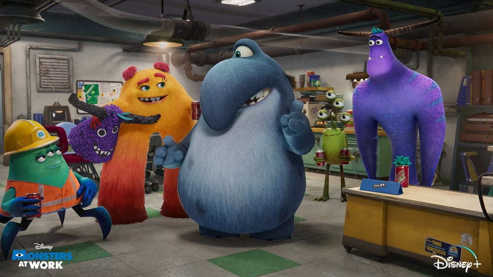 série Monstres & Cie : Au travail Disney+ Monsters at Work