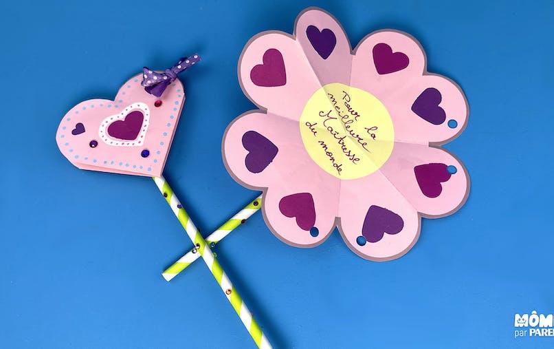Fleur de coeurs à offrir