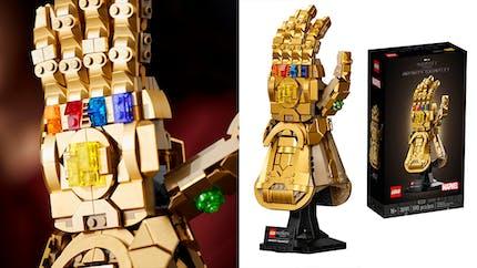 Marvel : Lego dévoile le gant de l'infini de Thanos