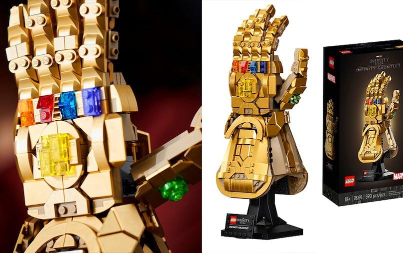 le gant de l'Infini Lego