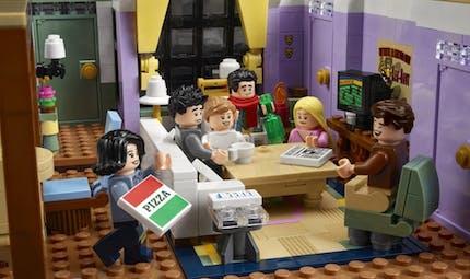 Lego présente les sets des fameux appartements de Friends