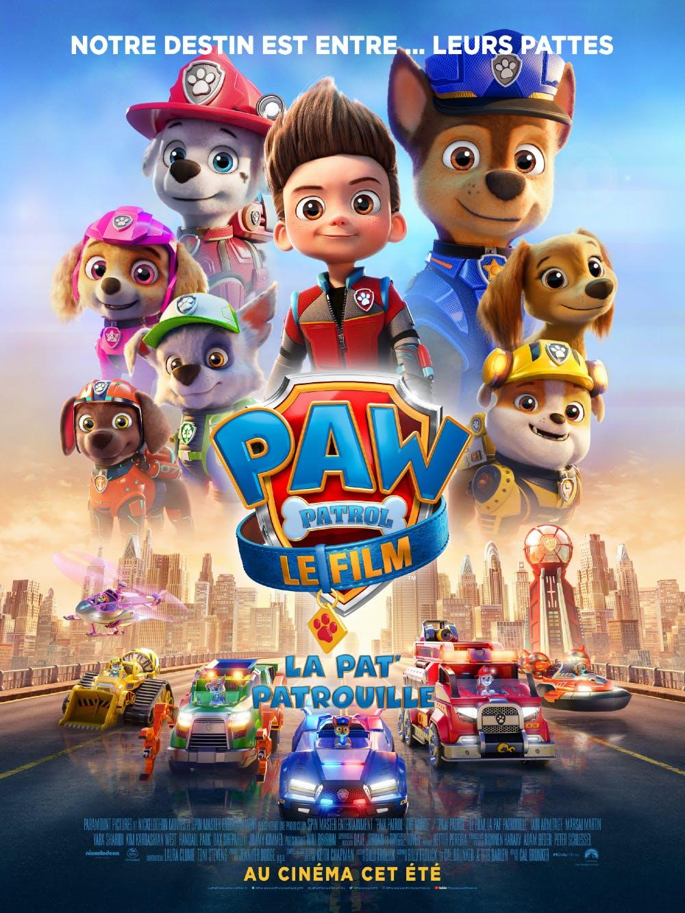 affiche de La Pat'Patrouille le film