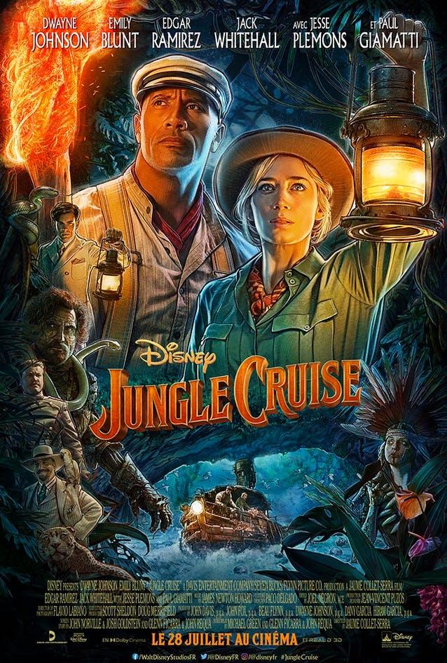 film Jungle Cruise Disney affiche