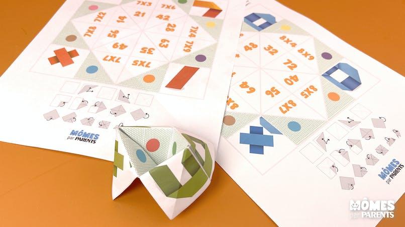 Cocottes de multiplication à imprimer