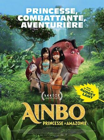 Ainbo, princesse d'Amazonie affiche