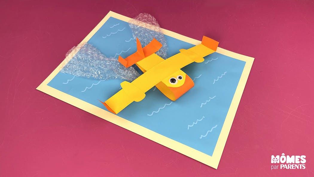 DIY avion Canadair sur l'eau
