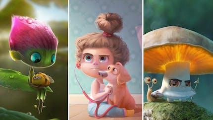 Les illustrations totalement craquantes de Maia Zeidan