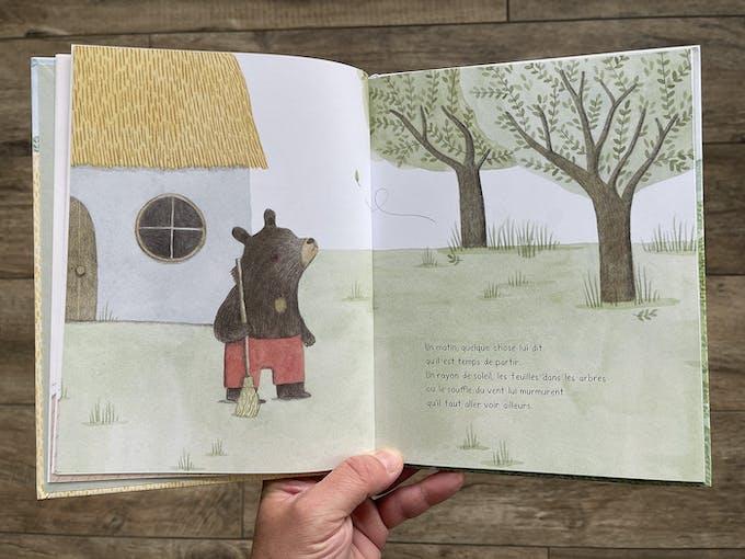 Ours et le murmure du vent extrait 2