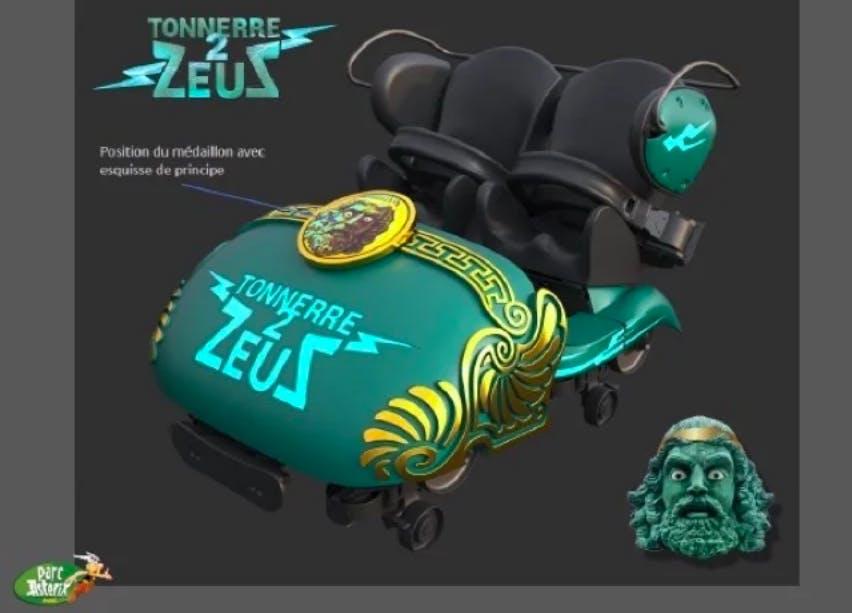 Tonnerre 2 Zeus Parc Astérix