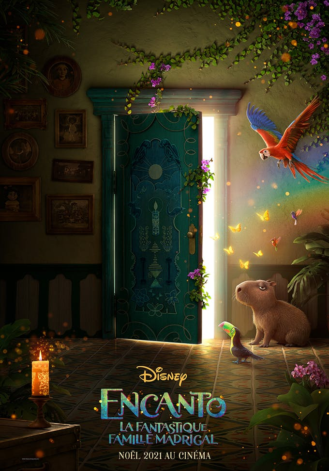 Encanto de Disney affiche