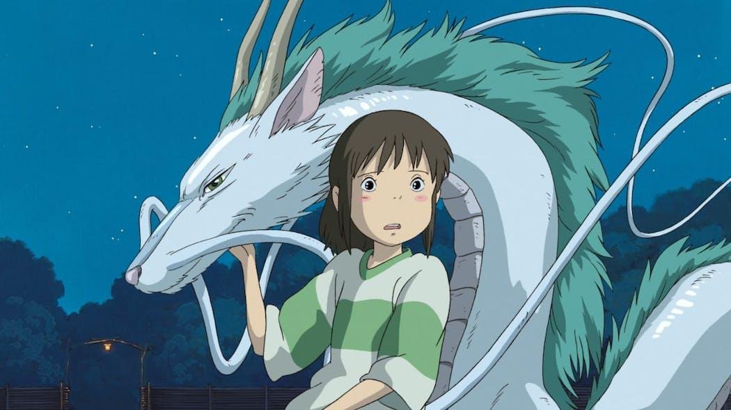 Le voyage de Chihiro - le dragon