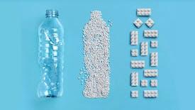 LEGO® : les toutes premières briques en bouteilles en plastique recyclé !