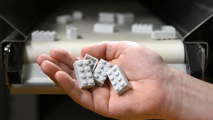 briques LEGO en bouteilles plastique recyclé