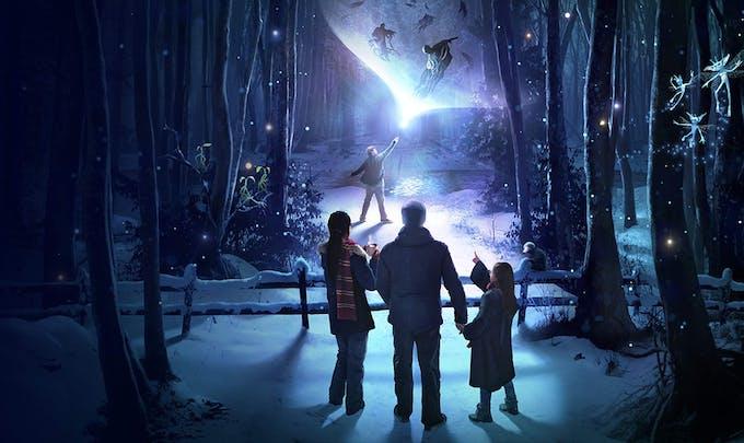 Attraction La forêt interdite Harry Potter