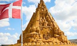 Le plus grand château de sable du monde !