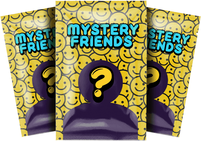 Mystery friends Twisted Toys