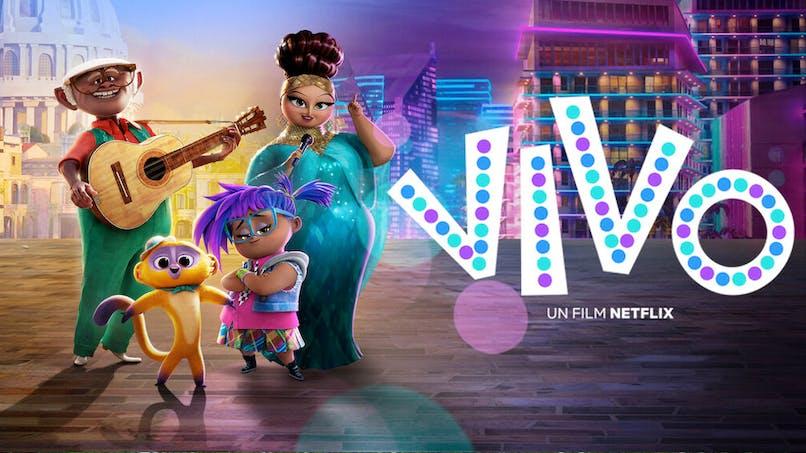 film d'animation Vivo