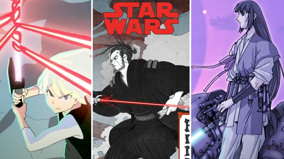 Star Wars Visions série Disney+