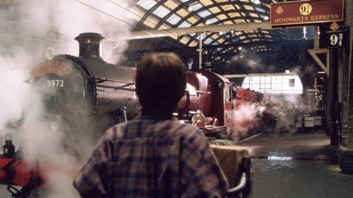 Harry Potter Voie 9 3/4 Poudlard Express