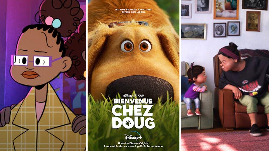 Disney+ : Découvrez Bienvenue chez Doug (Là-Haut !), Nona et La vingtaine des studios Pixar !