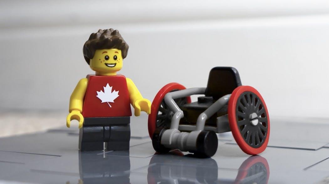 Para Expansion Pack lego Jeux Paralympiques