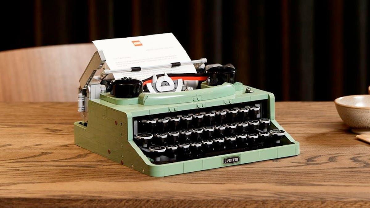 machine à écrire Lego