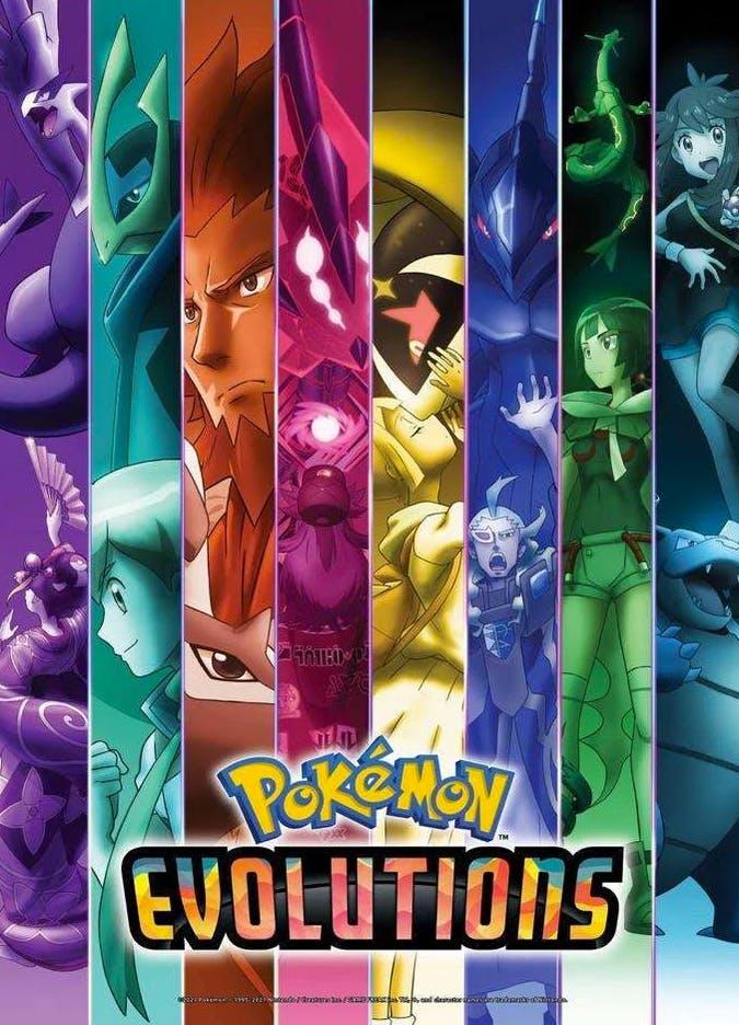série Pokémon Evolutions 25 ans Pokémon